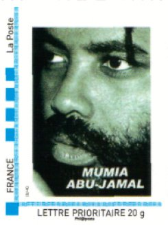 French Postal Service Mumia Stamp